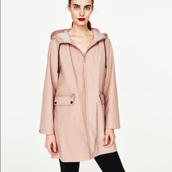 23ec5658 Zara Jackets & Coats | Water Repellent Parka Raincoat | Poshmark